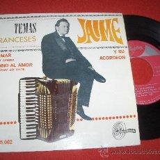 """Discos de vinilo: JAIME TEMAS FRANCESES EL MA...7"""" EP 1967 SINTONIA . Lote 27656740"""