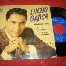 """Discos de vinilo: LUCHO GATICA MOLIENDO CAFE... 7"""" EP 1961 ODEON . Lote 27656788"""