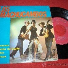 """Discos de vinilo: LOS MACHUCAMBOS LA MAMMA 7"""" EP 1964 ZAFIRO. Lote 27656868"""