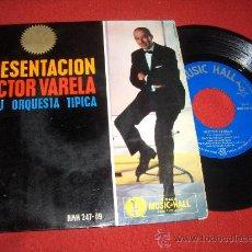 """Discos de vinilo: HECTOR VARELA VOS Y YO, CORAZON 7"""" EP 1963 MUSIC HALL . Lote 27656882"""