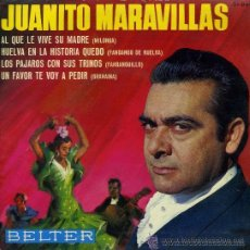 Discos de vinilo: JUANITO MARAVILLAS - 1965. Lote 27659189
