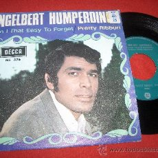 "Discos de vinilo: ENGELBERT HUMPERDINCK AM I EASY TO FERGET/PRETTY RIBBON 7"" SINGLE 1967 DECCA. Lote 27676220"