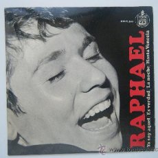 Discos de vinilo: RAPHAEL - YO SOY AQUEL. Lote 27749103
