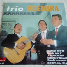 Discos de vinilo: TRIO ODEMIRA (CANÇAO PARA TI - A TRANSMONTANA - CUANDO SALI DE CUBA - CUANDO ME ENAMORO) PORTUGAL. Lote 27687513