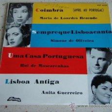 Discos de vinilo: MARIA DE LOURDES REZENDE (COIMBRA) ANITA GUERREIRO (LISBOA ANTIGA) SIMONE DE OLIVEIRA (SEMPRE QUE . Lote 27687633