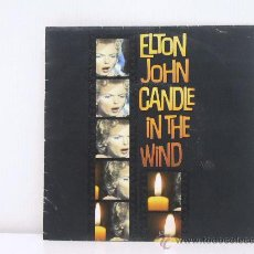 Discos de vinil: ELTON JOHN - CANDLE IN THE WIND ( LIVE ) / SORRY SEEMS TO BE THE HARDEST WORD ( LIVE )-POLYGRAM 1987. Lote 35240938