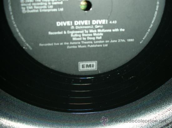 Discos de vinilo: BRUCE DICKINSON- IRON MAIDEN- DIVE! DIVE! DIVE! - MAXI EP 12 - Foto 3 - 27901917