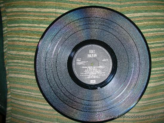 Discos de vinilo: BRUCE DICKINSON- IRON MAIDEN- DIVE! DIVE! DIVE! - MAXI EP 12 - Foto 4 - 27901917