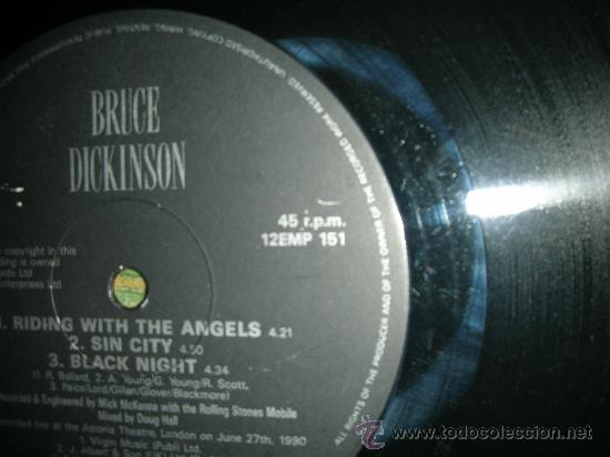 Discos de vinilo: BRUCE DICKINSON- IRON MAIDEN- DIVE! DIVE! DIVE! - MAXI EP 12 - Foto 7 - 27901917
