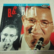 Discos de vinilo: BENNY GOODMAN HIS ORCHESTRA AND HIS COMBOS ( B.G. IN HI-FI PART 1) GERMANY EP CAPITOL. Lote 27696591
