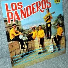Discos de vinilo: LOS PANDEROS - LP VINILO 12'' - EDITADO EN ESPAÑA - 12 TRACK - MALLER 1972.. Lote 27700296