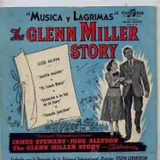 Discos de vinilo: THE GLENN MILLER STORY / JARRITA MARRON / ST. LOUIS BLUES / TUXEDO JUNCTION + 1 (EP). Lote 27700332