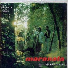 Discos de vinilo: GRUPO VOCAL MARANATA / CANTO AO MUNDO / THERE IS MORE TO LIFE + 2 (EP PORTUGUES). Lote 27700372
