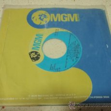 Discos de vinilo: MEL TILLIS & SHERRY BRYCE AND THE STATESIDERS (WHY NOT DO THE THINGS - DON'T LET GO) 1973 SINGLE45. Lote 27700424