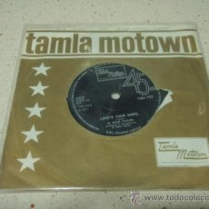 Discos de vinilo: R. DEAN TAYLOR ( INDIANA WANTS ME - LOVE'S YOUR NAME ) 1971-ENGLAND SINGLE45 TAMLA MOTOWN. Lote 27700507