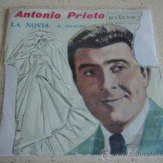 Discos de vinilo: ANTONIO PRIETO Y LA ORQUESTA DE JOSE SABRE MARROQUIN ( LA NOVIA - EL MILAGRO ) ESPAÑA-1962 SINGLE45. Lote 27704136