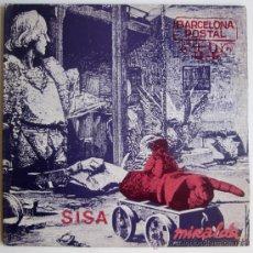 Discos de vinilo: SISA + MIRALDA – BARCELONA POSTAL – LP SPAIN 1982 – EDIGSA 01L0464. Lote 27707089