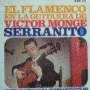 Discos de vinilo: VÍCTOR MONJE, SERRANITO - ALBORADA TRIANERA -1967 (EXCELENTE CONSERVACIÓN). Lote 27710556