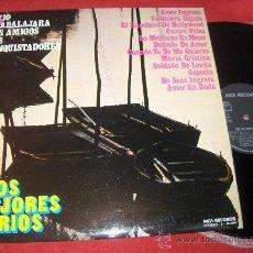 Discos de vinilo: LOS MEJORES TRIOS TRIO GUADALAJARA/LOS AMIGOS/LOS CONQUISTADORES LP 1973 MCA. Lote 27712897