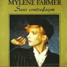 Discos de vinilo: MYLENE FARMER. SANS CONTREFAÇON (VINILO MAXI). Lote 27713858
