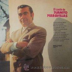 Discos de vinilo: JUANITO MARAVILLAS - LP - 1972. Lote 156519465