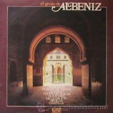 Discos de vinilo: ALBÉNIZ - ORQUESTA LÍRICA DE MADRID - 1975. Lote 27715593