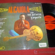 Disques de vinyle: AL CAIOLA CON SUS GUITARRAS Y ORQUESTA LP 1962 UNITED ARTISTS EDICION ESPAÑOLA. Lote 27717608