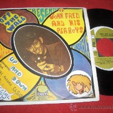 Discos de vinilo: JOHN FRED & HIS PLAY BOY BAND UP AND DOWN/OFF THE WALL 7