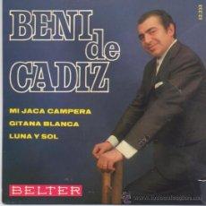 Discos de vinilo: BENI DE CADIZ,MI JACA CAMPANERA DEL 68. Lote 27742673