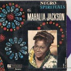 Discos de vinilo: MAHALIA JACKSON - IN THE UPPER ROOM + 3 (EP DE 4 CANCIONES) DISCOPHON 1960 - VINILO AZUL! VG++/VG+. Lote 27749433