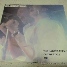 Discos de vinilo: JOE JACKSON BAND ( THE HARDER THEY COME - OUT OF STYLE - TILT ) 1980-HOLANDA SINGLE45 A&M RECORD. Lote 27753098