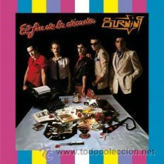 Discos de vinilo: LP BURNING EL FIN DE LA DECADA VINILO 180G MOVIDA ROCK. Lote 95257367