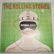 Discos de vinilo: THE ROLLING STONES - EMOTIONAL RESCUE / 1980 PATHE MARCONI / EDICIÓN FRANCESA. Lote 27756530