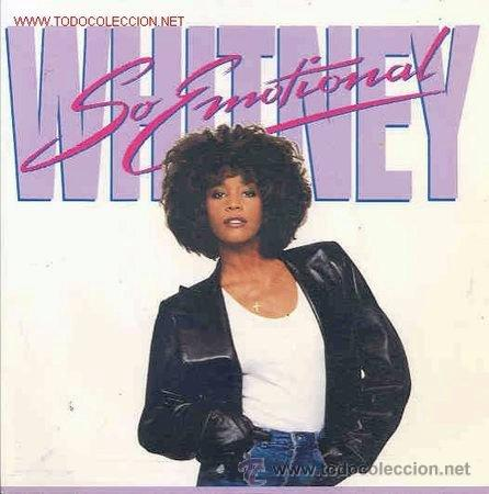 WHITNEY HOUSTON - SO EMOTIONAL - 1987 (COMO NUEVO) (Música - Discos - Singles Vinilo - Funk, Soul y Black Music)