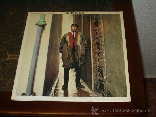 WHO DOBLE LP QUADROPHENIA PORTADA DISTINTA SOUNDTRACK (Música - Discos - LP Vinilo - Pop - Rock Extranjero de los 50 y 60)