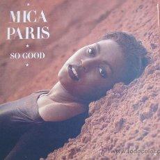 Disques de vinyle: LP - MICA PARIS - SO GOOD - ORIGINAL ESPAÑOL, ISLAND RECORDS 1988. Lote 27760065