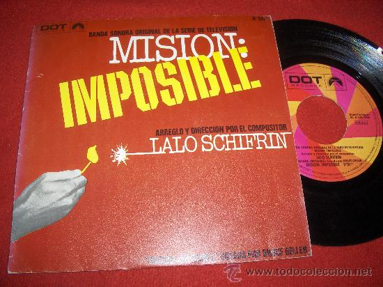 LALO SCHIFRIN MISION IMPOSIBLE BSO TV 7