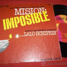 Discos de vinilo: LALO SCHIFRIN MISION IMPOSIBLE BSO TV 7