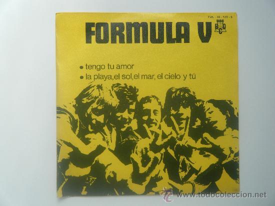FORMULA V - TENGO TU AMOR (Música - Discos - Singles Vinilo - Grupos Españoles de los 70 y 80)