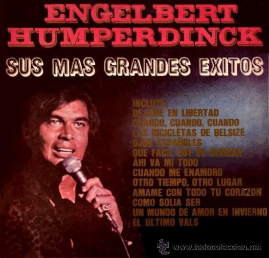 LP RECOPILATORIO DE ENGELBERT HUMPERDINCK AÑO 1974 EDICIÓN ARGENTINA (Música - Discos - LP Vinilo - Pop - Rock Extranjero de los 50 y 60)