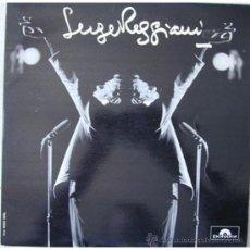 Discos de vinilo: LP Y SENCILLO DE SERGE REGGIANI AÑO 1968 EDICIÓN FRANCESA. Lote 27772042