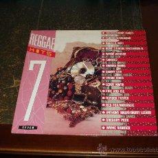 Discos de vinilo: REGGAE HITS 7 LP VARIOS INTERPRETES. Lote 27772491