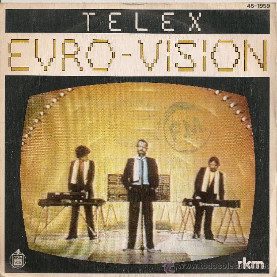 EUROVISION 1980 TELEX - EURO-VISION (SINGLE ESPAÑOL) (Música - Discos - Singles Vinilo - Festival de Eurovisión)