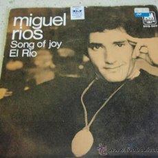 Discos de vinilo: MIGUEL RIOS ( EL RIO - SONG OF JOY ) ENGLAND-1970 SINGLE45 A&M RECORDS. Lote 27778449