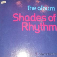 Disques de vinyle: SHADES OF RHYTHM - THE ALBUM - ED. GERMANY 1991. Lote 27791178