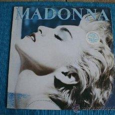Discos de vinilo: TRUE BLUE, MADONNA. 1986.. Lote 27780408