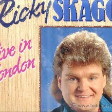 Discos de vinilo: RICKY SCAGGS : LIVE IN LONDON. Lote 27786603