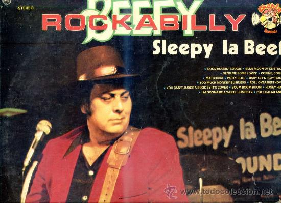 SLEEPY LA BEEF - BEEFY ROCKABILLY (Música - Discos - LP Vinilo - Country y Folk)