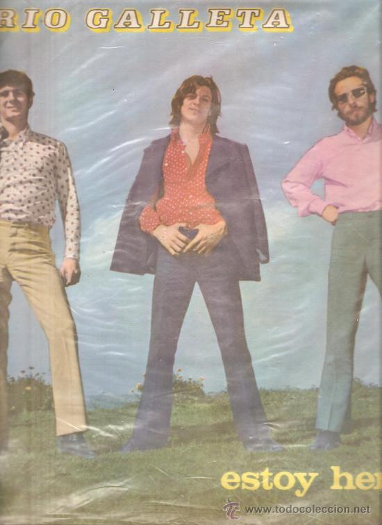 LP TRIO GALLETA - ESTOY HERIDO - VERSIONES ROCK SOUL DE THE DOORS, CREEDENCE, CHRISTIE, ETC (Música - Discos - LP Vinilo - Grupos y Solistas de latinoamérica)
