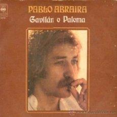 Discos de vinilo: LP DE PABLO ABRAIRA AÑO 1977 EDICIÓN ARGENTINA. Lote 26847062
